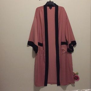 Who What Wear Long Duster Kimono Jacket S/M